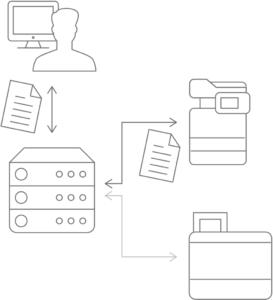 uniflow, optimalizace tisku