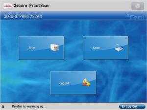 uniflow pokročilé skenování, uniflow smb, správa tisku