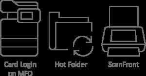 vytežování obrazů, vytěžování dat, indexace, uniflow